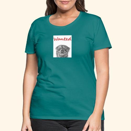 WANTED Rottweiler - Women's Premium T-Shirt