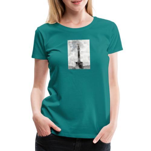 Siegessäule - Frauen Premium T-Shirt