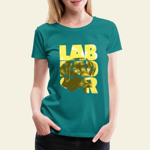 NASSU Labrador Brown I - Naisten premium t-paita