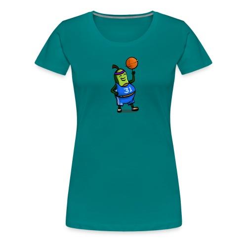 Baseball Avocado - Frauen Premium T-Shirt