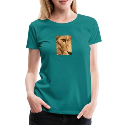 Lion eye - Frauen Premium T-Shirt