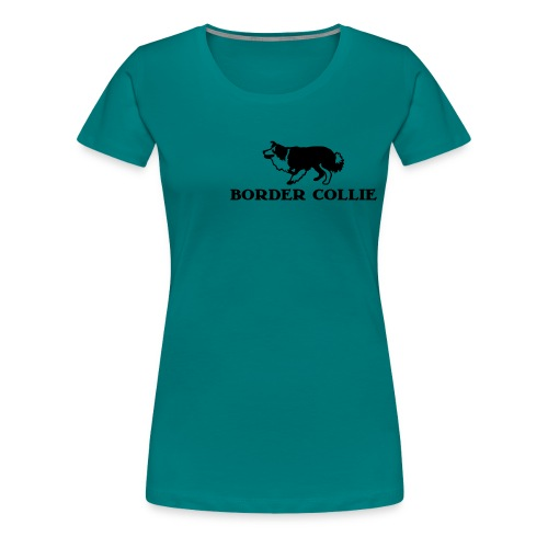 Border Collie 4 - Frauen Premium T-Shirt