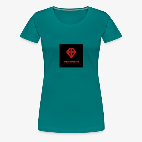 warrytubers merch - Vrouwen Premium T-shirt