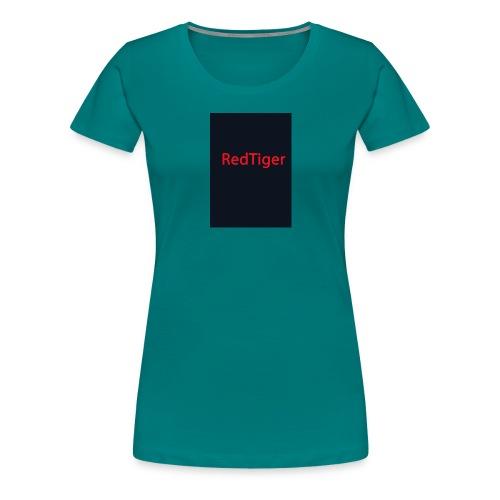 RedTiger Standartlogo - Frauen Premium T-Shirt