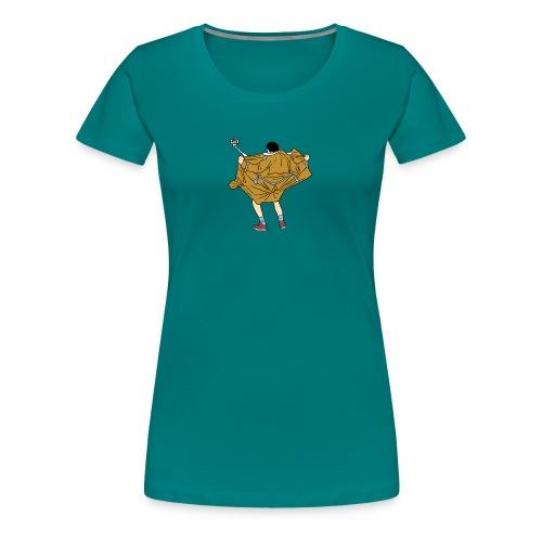 Funny man - Women's Premium T-Shirt