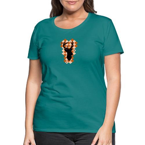 DeerSquare - Naisten premium t-paita