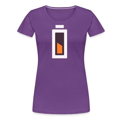 Batterie - En charge... - T-shirt Premium Femme