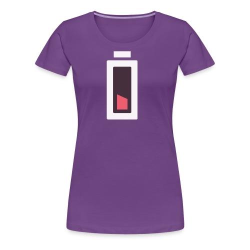 Batterie - Plus d'énergie... - T-shirt Premium Femme