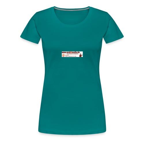Anzeigegrebxmedia485schmalneu - Frauen Premium T-Shirt