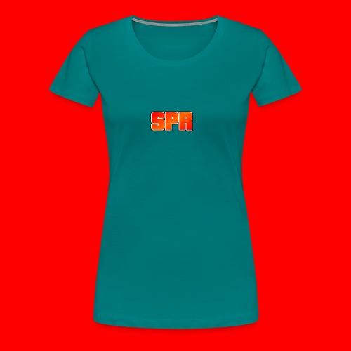 Logo SupeRichieGames - Vrouwen Premium T-shirt