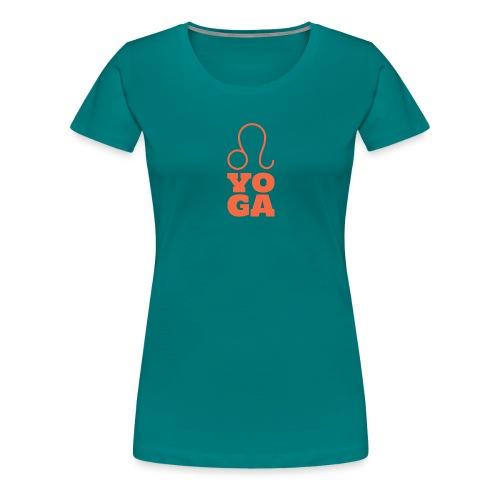 YOGA Design - Frauen Premium T-Shirt