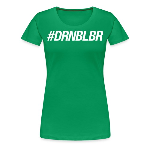 DRNBLBNwhite Frauen - Frauen Premium T-Shirt