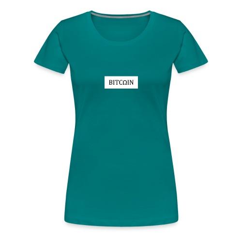 Classic Bitcoin Omega Design BTC Flight Club - Frauen Premium T-Shirt