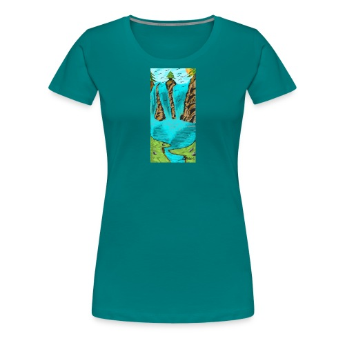 Screenshot 20180930 121547 Samsung Notes - Frauen Premium T-Shirt