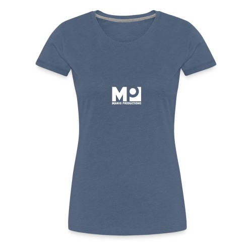 ManigProductions White Transparent png - Women's Premium T-Shirt