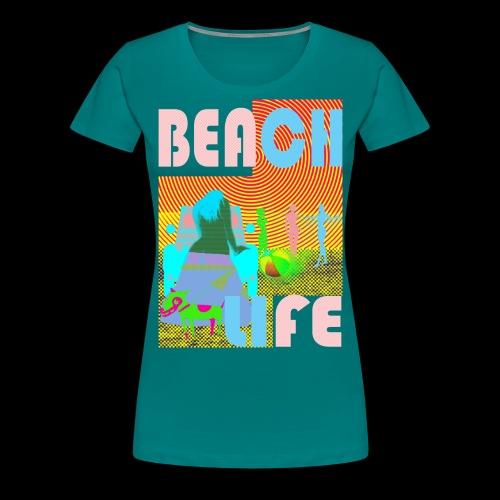 beachlife - Frauen Premium T-Shirt