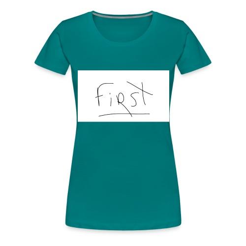 Panneau-blanc (1) - T-shirt Premium Femme
