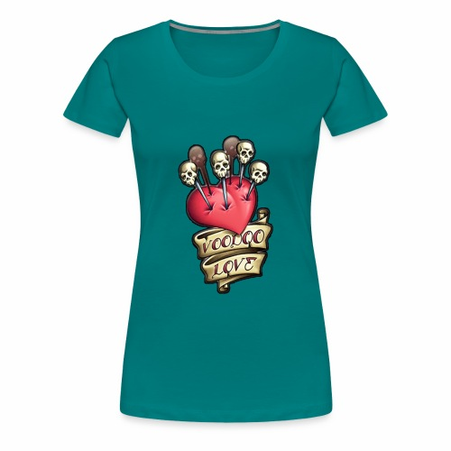 AMOR VOODOO - Camiseta premium mujer