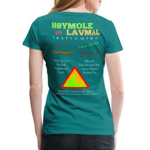 Høymole og lavmål - Premium T-skjorte for kvinner