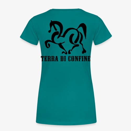 logo TDC nero - Maglietta Premium da donna