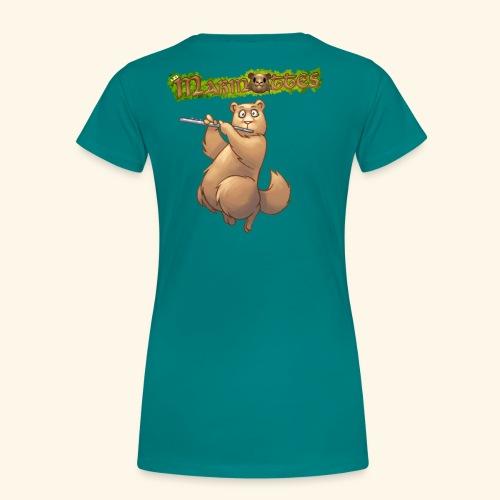 Tshirt Flute dos 2 - T-shirt Premium Femme