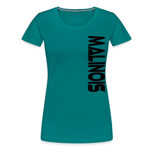 Malinois T-Shirts - Frauen Premium T-Shirt