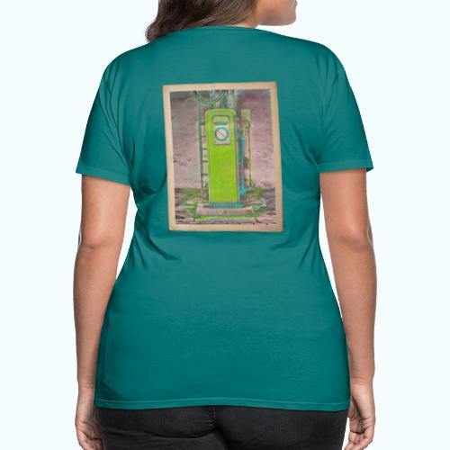 Vintage gas station - Women's Premium T-Shirt