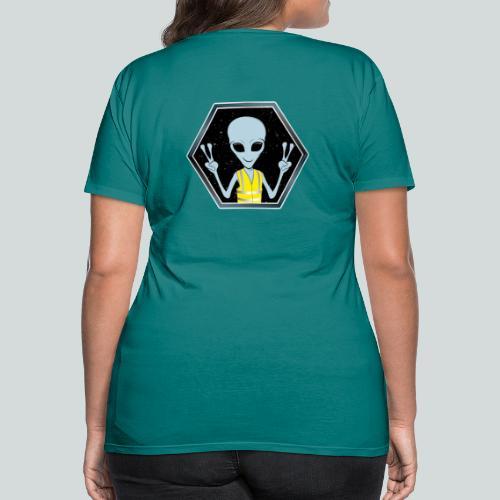 Extraterrestre Gilet jaune - T-shirt Premium Femme