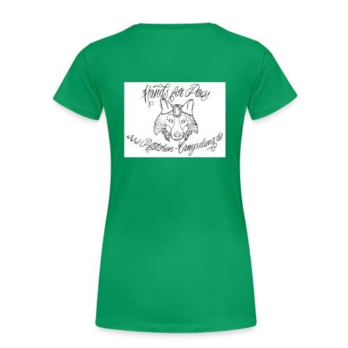 logocamp jpg - Frauen Premium T-Shirt