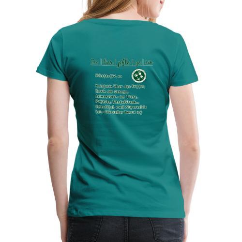 Zootierpflegerin, Begriff - Frauen Premium T-Shirt