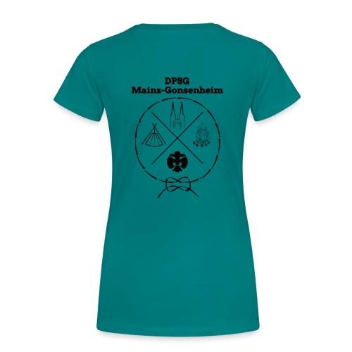 DPSG Mainz-Gonsenheim Hipsterlogo - Frauen Premium T-Shirt