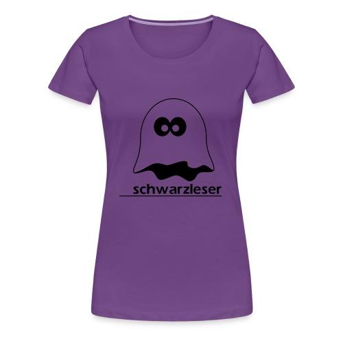 Schwarzleser - Frauen Premium T-Shirt