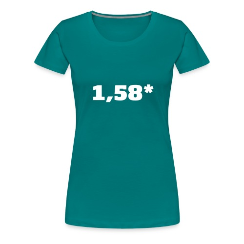1 58 front - Premium T-skjorte for kvinner