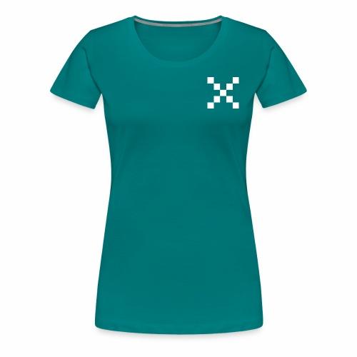 Xwhite png - Dame premium T-shirt