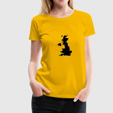 United Kingdom - Premium-T-shirt dam