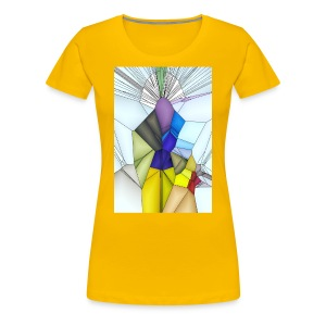 Optimistik Art - T-shirt Premium Femme
