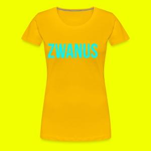 zwanus - Vrouwen Premium T-shirt