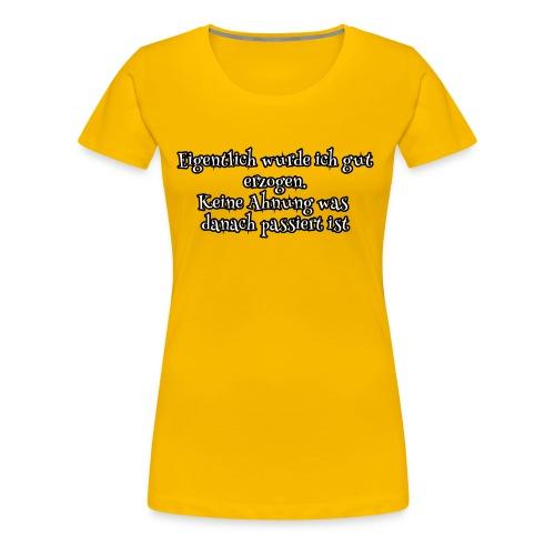 CRAZY KIDS - Frauen Premium T-Shirt