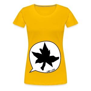 Speech Bubble Last Life - Women's Premium T-Shirt