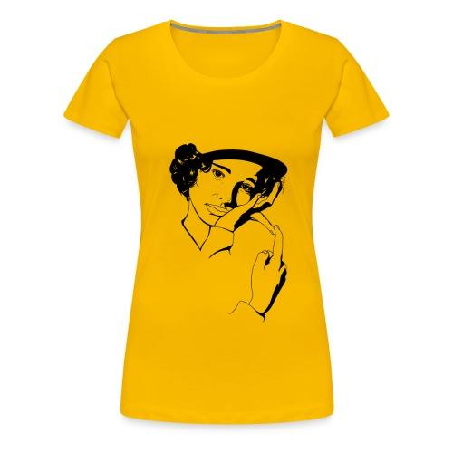 Natalie B&W - Camiseta premium mujer