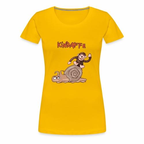 Kindaffe wird geschrumpft - Frauen Premium T-Shirt