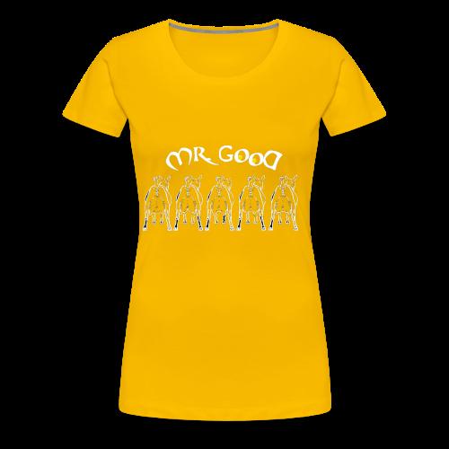 GOAT - Maglietta Premium da donna