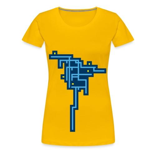 Blue Tree - Camiseta premium mujer