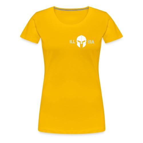 illyria white - Frauen Premium T-Shirt