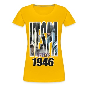 VESPA MERKOS - Camiseta premium mujer