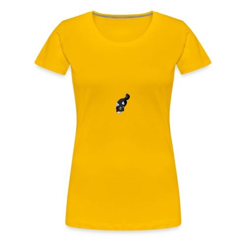 renard noir - T-shirt Premium Femme