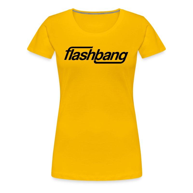 FlashBang Énkel - Utan Donation - Premium-T-shirt dam