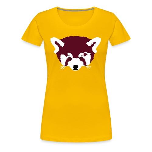 Roter Panda - Frauen Premium T-Shirt