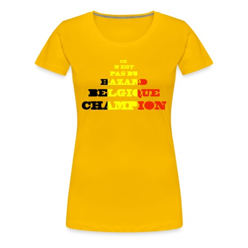champion 3 - T-shirt Premium Femme