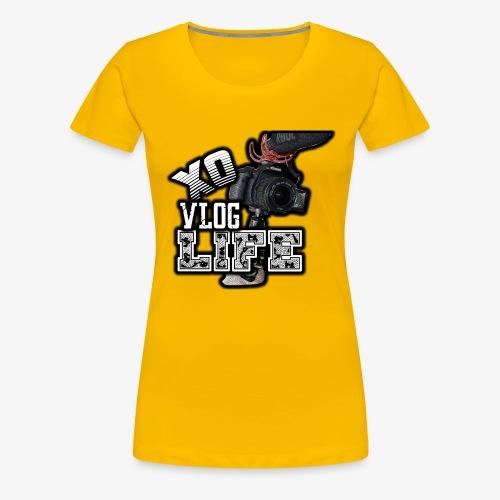XO VLOG LIFE ! - Women's Premium T-Shirt